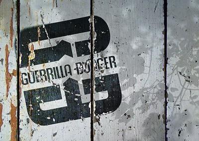 Guerrilla Burger Branding