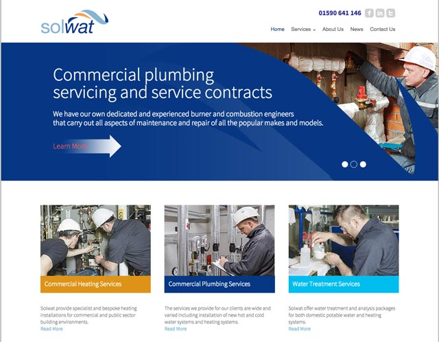 Solwat Website