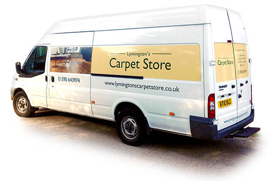 Lymingtons Carpet Store Van