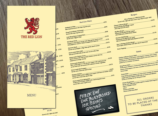 red-lion-menu