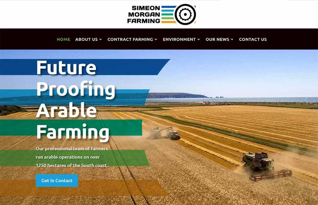 Brand Bamboo designed Simeon Morgan Farming